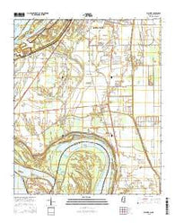 Wayside Mississippi Current topographic map, 1:24000 scale, 7.5 X 7.5 Minute, Year 2015
