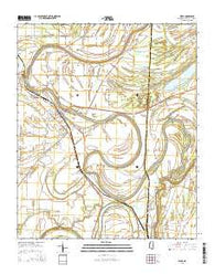 Webb Mississippi Current topographic map, 1:24000 scale, 7.5 X 7.5 Minute, Year 2015