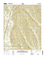 Wheeler Mississippi Current topographic map, 1:24000 scale, 7.5 X 7.5 Minute, Year 2015 from Mississippi Map Store