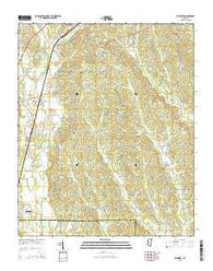 Wheeler Mississippi Current topographic map, 1:24000 scale, 7.5 X 7.5 Minute, Year 2015