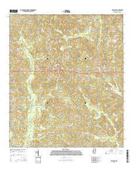 Whistler Mississippi Current topographic map, 1:24000 scale, 7.5 X 7.5 Minute, Year 2015
