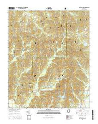 Whitten Town Mississippi Current topographic map, 1:24000 scale, 7.5 X 7.5 Minute, Year 2015