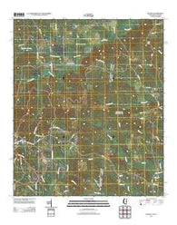 Whynot Mississippi Historical topographic map, 1:24000 scale, 7.5 X 7.5 Minute, Year 2012