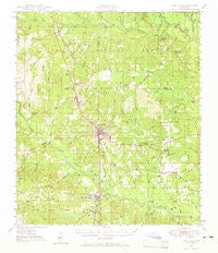 Wiggins Mississippi Historical topographic map, 1:62500 scale, 15 X 15 Minute, Year 1947