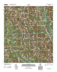 Williamsburg Mississippi Historical topographic map, 1:24000 scale, 7.5 X 7.5 Minute, Year 2012