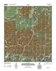 Willows Mississippi Historical topographic map, 1:24000 scale, 7.5 X 7.5 Minute, Year 2012