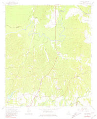 Willows Mississippi Historical topographic map, 1:24000 scale, 7.5 X 7.5 Minute, Year 1963