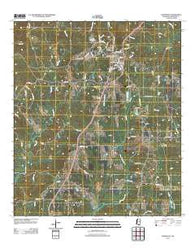 Woodville Mississippi Historical topographic map, 1:24000 scale, 7.5 X 7.5 Minute, Year 2012