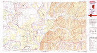 Woodville Mississippi Historical topographic map, 1:100000 scale, 30 X 60 Minute, Year 1991