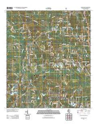 Wortham Mississippi Historical topographic map, 1:24000 scale, 7.5 X 7.5 Minute, Year 2012