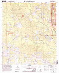 Wortham Mississippi Historical topographic map, 1:24000 scale, 7.5 X 7.5 Minute, Year 2000