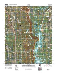 Wren Mississippi Historical topographic map, 1:24000 scale, 7.5 X 7.5 Minute, Year 2012