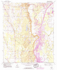 Wren Mississippi Historical topographic map, 1:24000 scale, 7.5 X 7.5 Minute, Year 1992