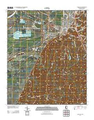 Yazoo City Mississippi Historical topographic map, 1:24000 scale, 7.5 X 7.5 Minute, Year 2012