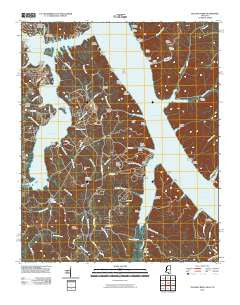 Yellow Creek Mississippi Historical topographic map, 1:24000 scale, 7.5 X 7.5 Minute, Year 2010