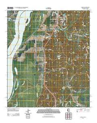 Yokena Mississippi Historical topographic map, 1:24000 scale, 7.5 X 7.5 Minute, Year 2012