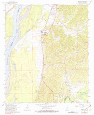 Yokena Mississippi Historical topographic map, 1:24000 scale, 7.5 X 7.5 Minute, Year 1963