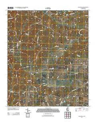 Zeiglerville Mississippi Historical topographic map, 1:24000 scale, 7.5 X 7.5 Minute, Year 2012