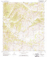 Zeiglerville Mississippi Historical topographic map, 1:24000 scale, 7.5 X 7.5 Minute, Year 1964