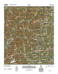 Zetus Mississippi Historical topographic map, 1:24000 scale, 7.5 X 7.5 Minute, Year 2012