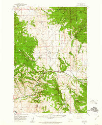 Avon Montana Historical topographic map, 1:62500 scale, 15 X 15 Minute, Year 1958