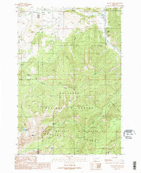 Beacon Point Montana Historical topographic map, 1:24000 scale, 7.5 X 7.5 Minute, Year 1988