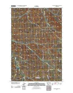 Chandler Spring Montana Historical topographic map, 1:24000 scale, 7.5 X 7.5 Minute, Year 2011