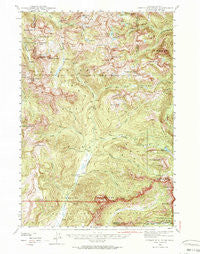 Cutoff Mtn Montana Historical topographic map, 1:62500 scale, 15 X 15 Minute, Year 1942