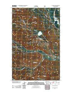 Cyclone Lake Montana Historical topographic map, 1:24000 scale, 7.5 X 7.5 Minute, Year 2011