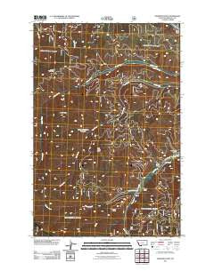 Diamond Point Montana Historical topographic map, 1:24000 scale, 7.5 X 7.5 Minute, Year 2011