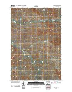 First Creek Montana Historical topographic map, 1:24000 scale, 7.5 X 7.5 Minute, Year 2011