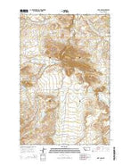 Fort Logan Montana Current topographic map, 1:24000 scale, 7.5 X 7.5 Minute, Year 2014 from Montana Map Store