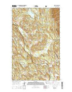 Fortine Montana Current topographic map, 1:24000 scale, 7.5 X 7.5 Minute, Year 2014 from Montana Map Store