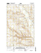 Gildford NW Montana Current topographic map, 1:24000 scale, 7.5 X 7.5 Minute, Year 2014 from Montana Map Store
