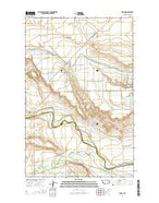 Gilman Montana Current topographic map, 1:24000 scale, 7.5 X 7.5 Minute, Year 2014 from Montana Map Store