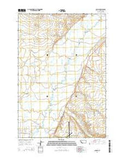 Glen SE Montana Current topographic map, 1:24000 scale, 7.5 X 7.5 Minute, Year 2014 from Montana Maps Store