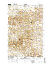 Guthridge Ranch Montana Current topographic map, 1:24000 scale, 7.5 X 7.5 Minute, Year 2014 from Montana Maps Store