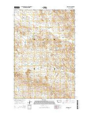 Hagen Gap Montana Current topographic map, 1:24000 scale, 7.5 X 7.5 Minute, Year 2014 from Montana Maps Store