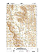 Hagen Ranch Montana Current topographic map, 1:24000 scale, 7.5 X 7.5 Minute, Year 2014 from Montana Maps Store