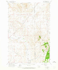 Henry Creek Montana Historical topographic map, 1:24000 scale, 7.5 X 7.5 Minute, Year 1963