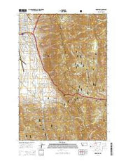 Homestake Montana Current topographic map, 1:24000 scale, 7.5 X 7.5 Minute, Year 2014 from Montana Maps Store