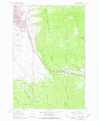 Homestake Montana Historical topographic map, 1:24000 scale, 7.5 X 7.5 Minute, Year 1963