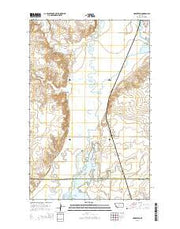 Homestead Montana Current topographic map, 1:24000 scale, 7.5 X 7.5 Minute, Year 2014 from Montana Maps Store