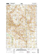 Humbolt Hills Montana Current topographic map, 1:24000 scale, 7.5 X 7.5 Minute, Year 2014 from Montana Map Store