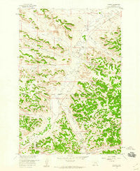 Jimtown Montana Historical topographic map, 1:24000 scale, 7.5 X 7.5 Minute, Year 1958