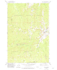 Kelly Lake Montana Historical topographic map, 1:24000 scale, 7.5 X 7.5 Minute, Year 1977