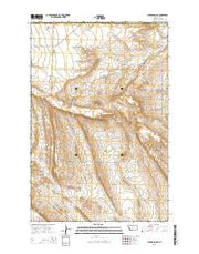 Lake Mason NE Montana Current topographic map, 1:24000 scale, 7.5 X 7.5 Minute, Year 2014 from Montana Maps Store