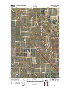 Lake Mason NW Montana Historical topographic map, 1:24000 scale, 7.5 X 7.5 Minute, Year 2011