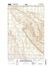Lake Mason NW Montana Current topographic map, 1:24000 scale, 7.5 X 7.5 Minute, Year 2014 from Montana Maps Store