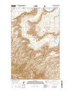Lepleys Creek Montana Current topographic map, 1:24000 scale, 7.5 X 7.5 Minute, Year 2014 from Montana Map Store